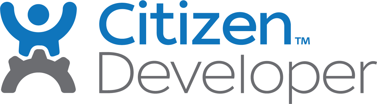 CitizenDeveloper Logo The Fastest Development Tool In The World